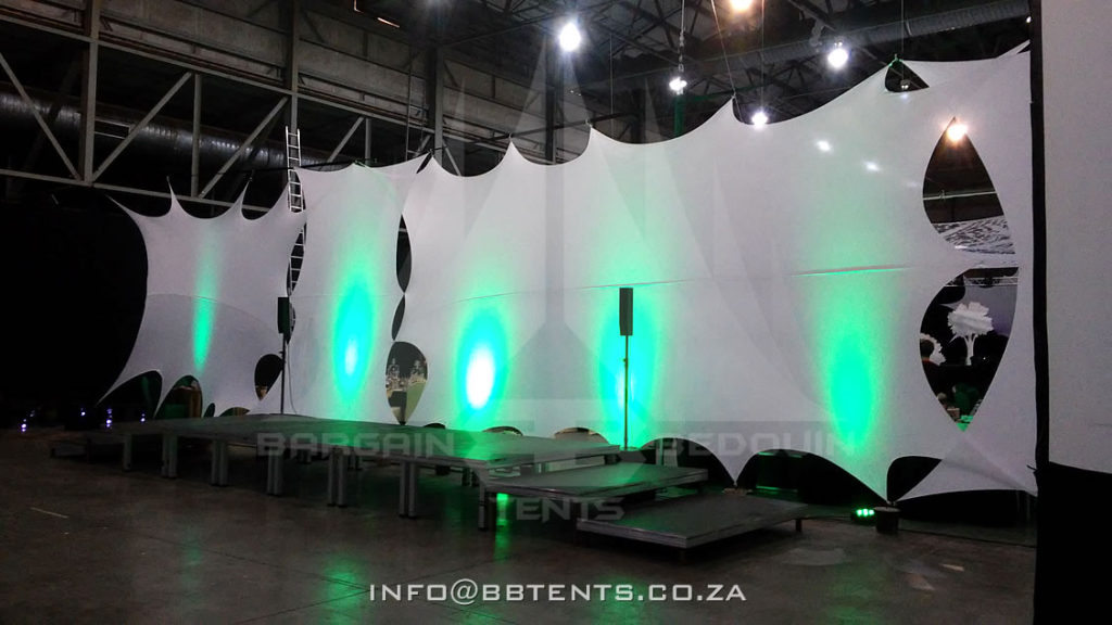 Stretch d cor stretch d cor for bedouin tents bargain for Indoor stage decoration