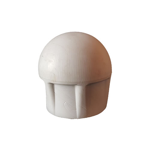 50mm medium pole cap black or white