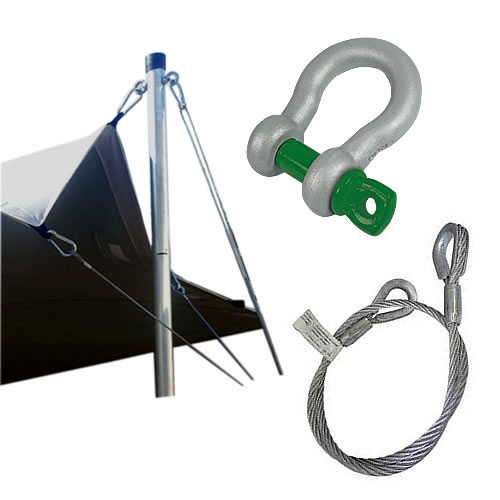 Galvanised Tent Cable Sets