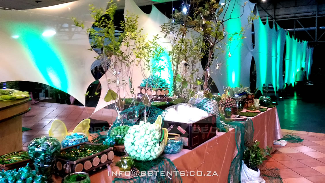 Indoor Stretch Tent Decor
