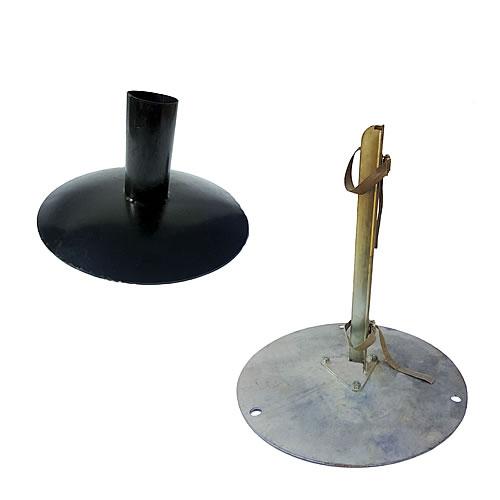 Tent Pole Base Plate