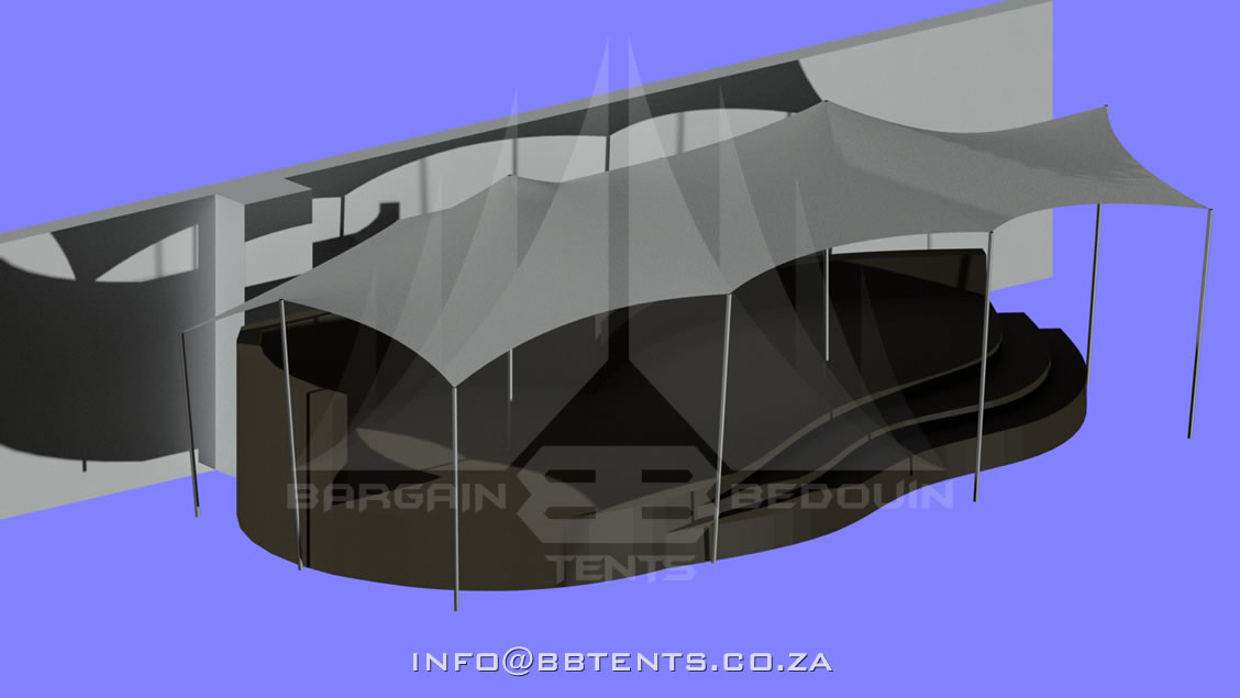 Permanent Stretch Tent Structures