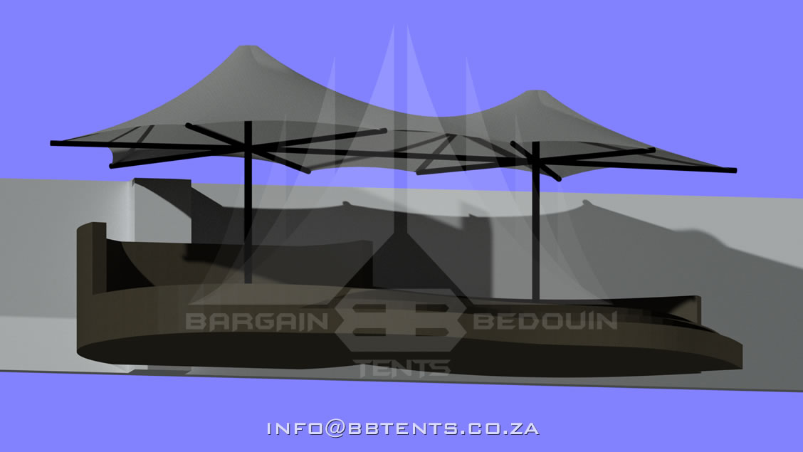 Engineered Stretch Tent Structures