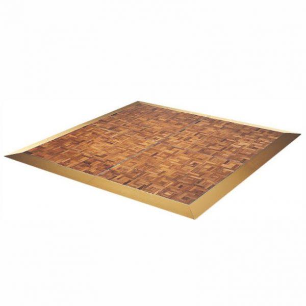 parquet wood dancefloor hire