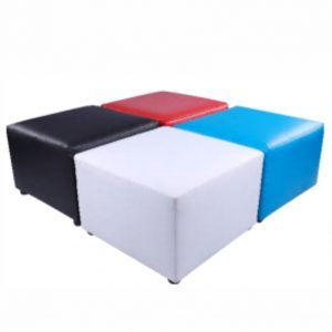 large cube ottomans hire