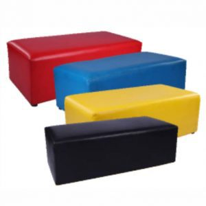 rectangular ottomans for hire