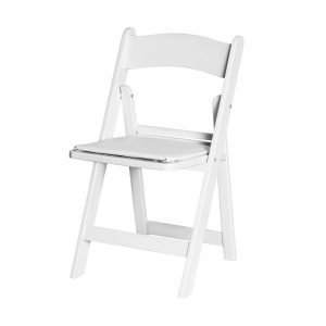 Wimbledon chair plastic white